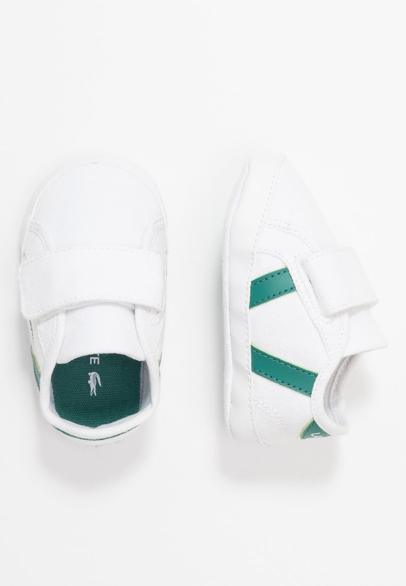 Lacoste - SIDELINE CUB - Cadeau de naissance - white/green