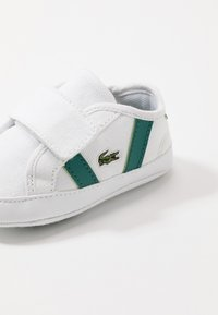 Lacoste - SIDELINE CUB - Baby gifts - white/green - 2