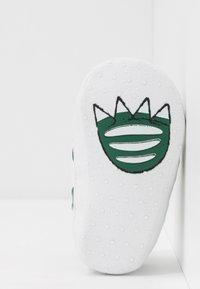 Lacoste - SIDELINE CUB - Cadeau de naissance - white/green - 5