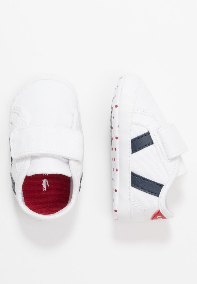 SIDELINE CUB - Regalo per nascita - white/navy/red