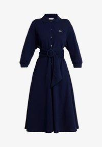 Lacoste - EF0681-00 - Robe chemise - navy blue - 4