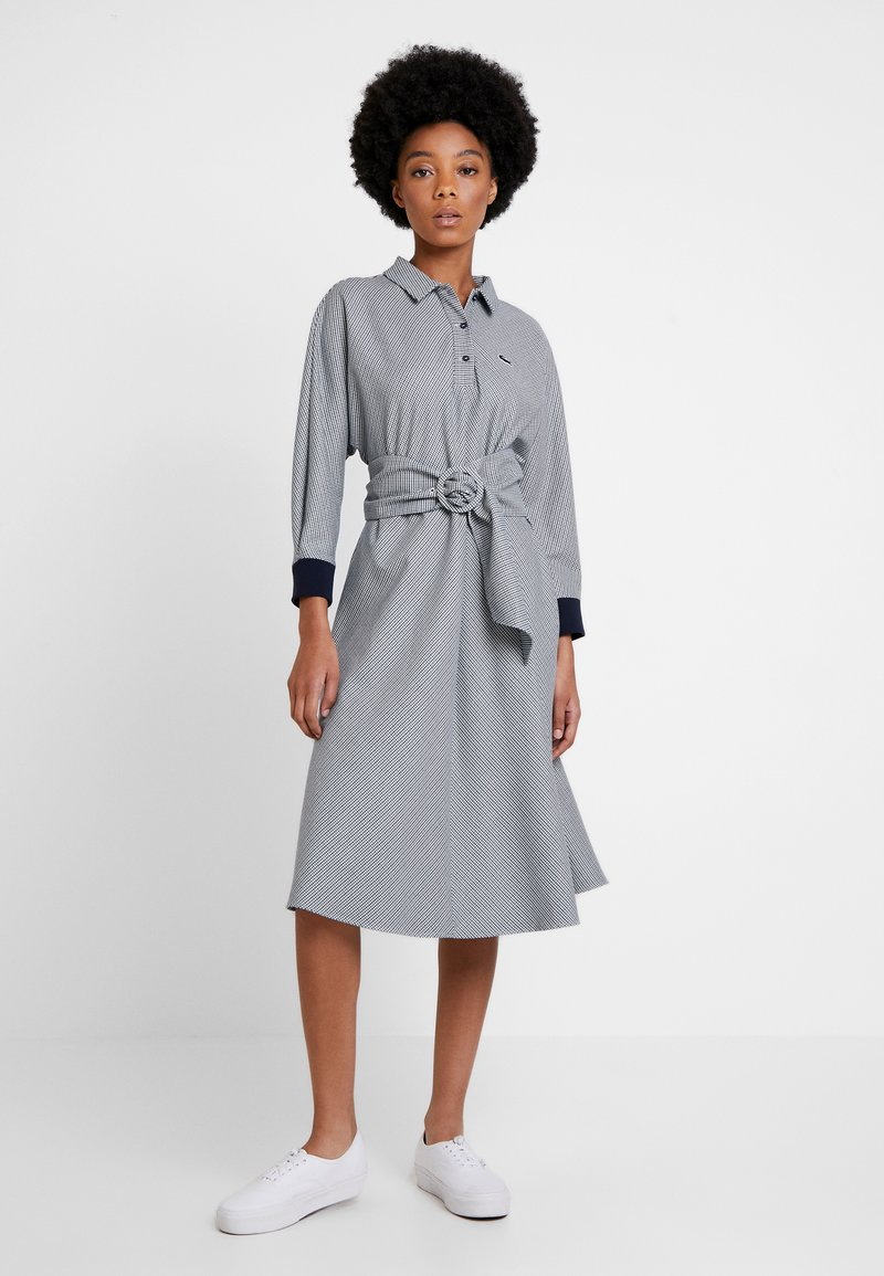 Lacoste - Skjortekjole - navy blue