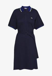 Lacoste - Sukienka letnia - navy blue/methylene subal - 4