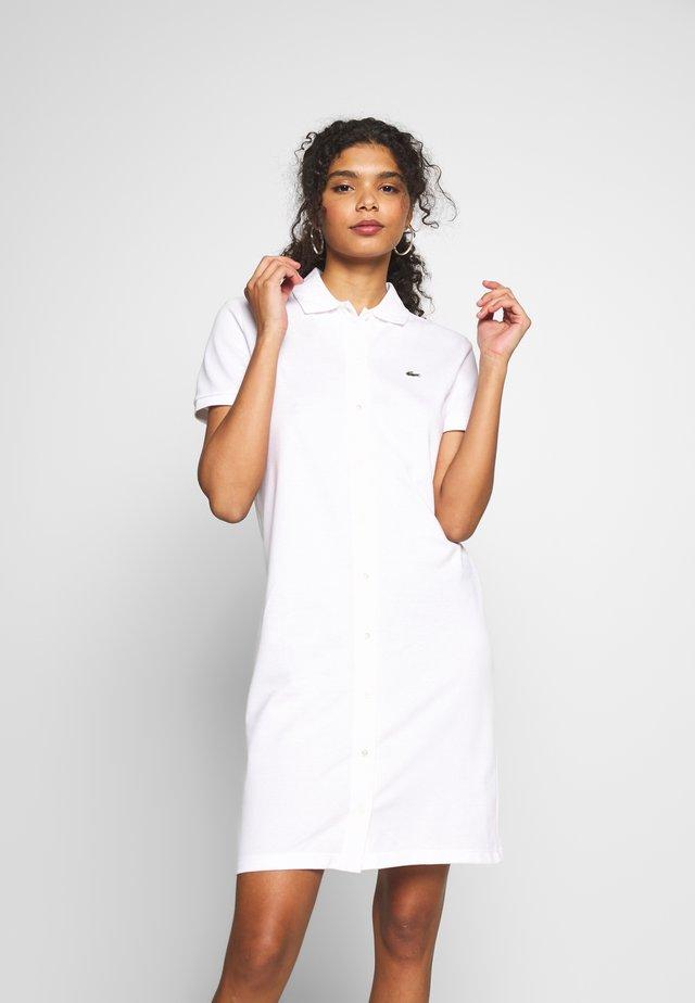 EF5468-00-102 - Košilové šaty - white