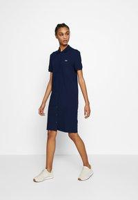 Lacoste - EF5468-00-102 - Shirt dress - navy blue - 1