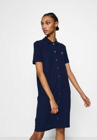Lacoste - EF5468-00-102 - Shirt dress - navy blue - 0