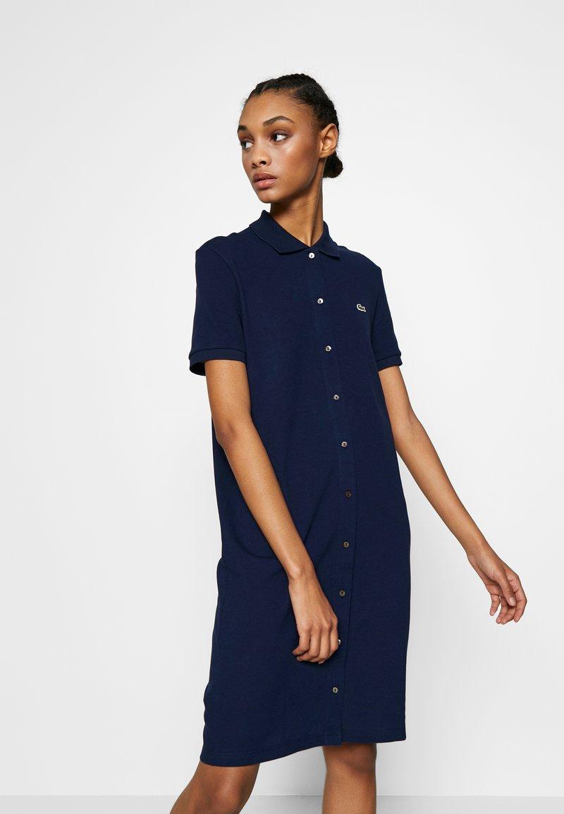 Lacoste - EF5468-00-102 - Shirt dress - navy blue