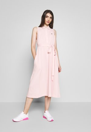 Jerseykleid - light pink