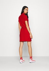 Lacoste - DRESS - Sukienka letnia - red - 2