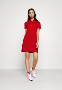 Lacoste - DRESS - Sukienka letnia - red - 1