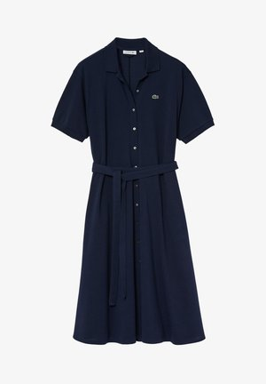 LACOSTE - DAMEN KLEID - Robe chemise - blue
