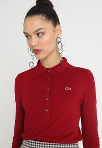 Lacoste - Polo shirt - bordeaux - 3