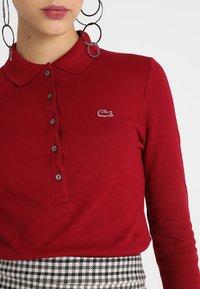 Lacoste - Polo shirt - bordeaux - 5