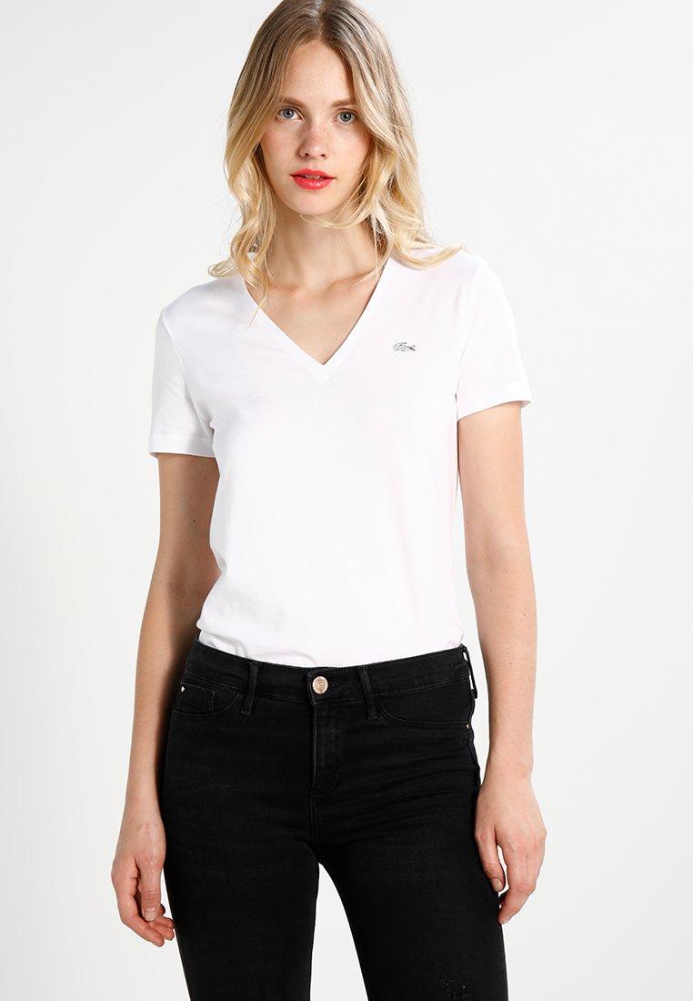 Lacoste - Camiseta básica - white