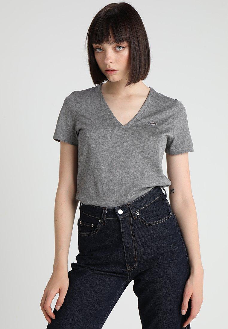 Lacoste - T-Shirt basic - pierre chine