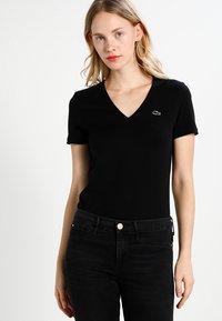 Lacoste - Basic T-shirt - black - 0