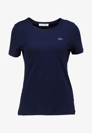 ROUND NECK CLASSIC TEE - T-shirt basic - marine
