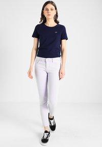 Lacoste - ROUND NECK CLASSIC TEE - Basic T-shirt - marine - 1