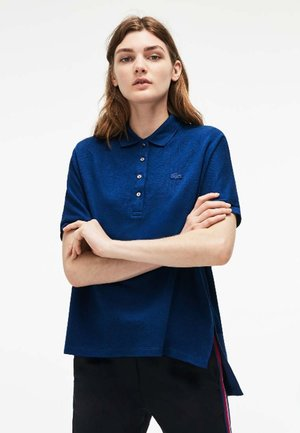 PF0103-00  - Polo shirt - dark blue/dark green