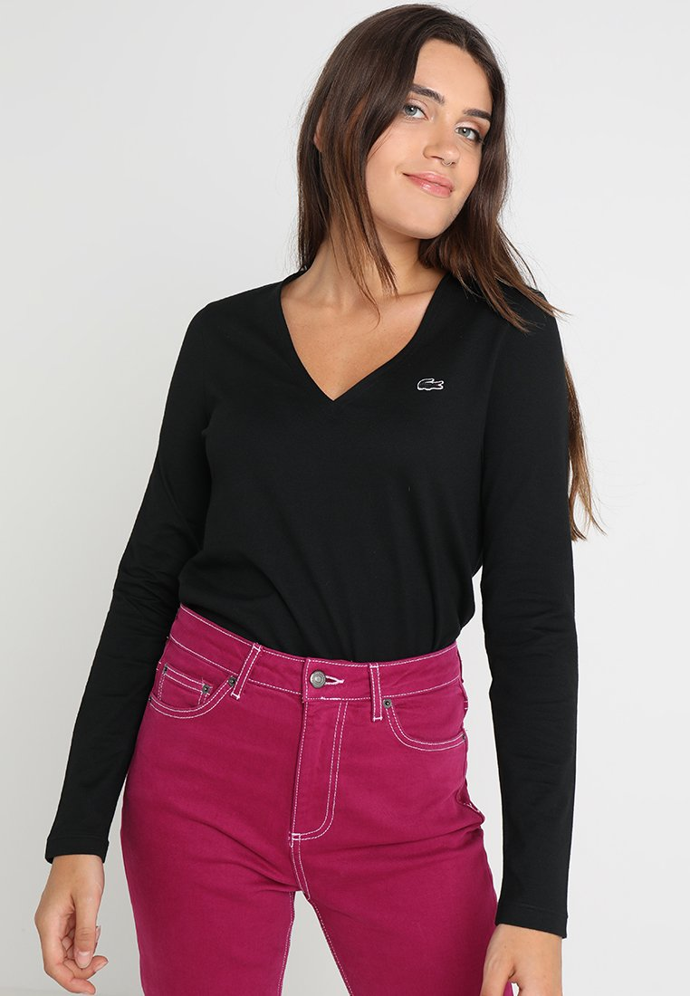 Lacoste - Long sleeved top - noir