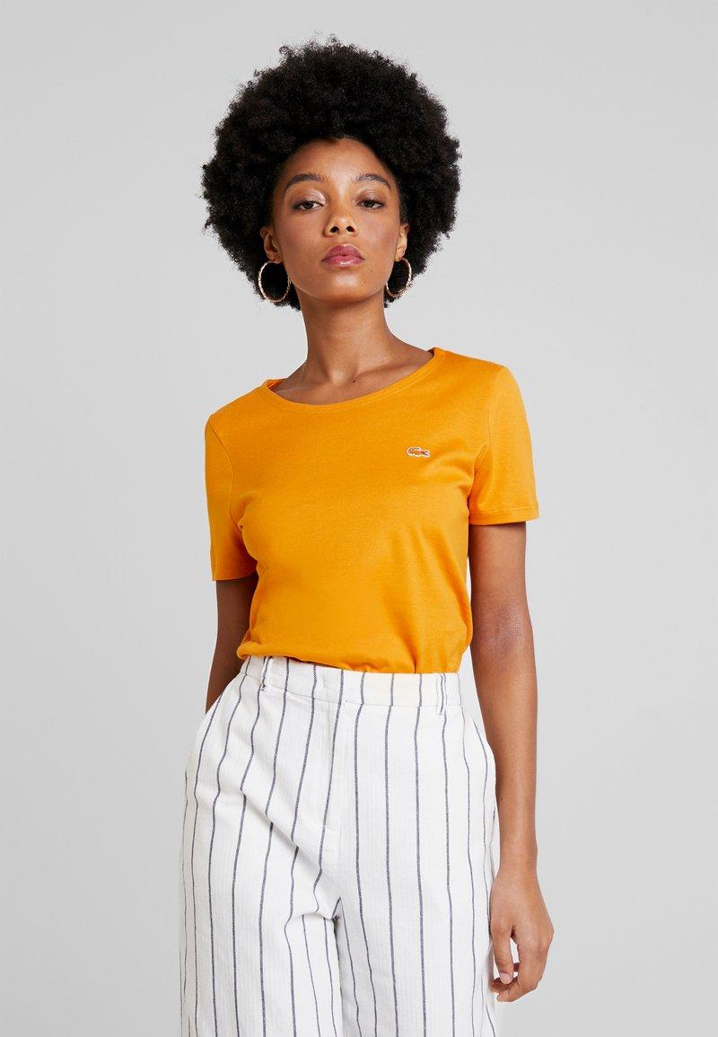 Lacoste - T-Shirt basic - abricotine