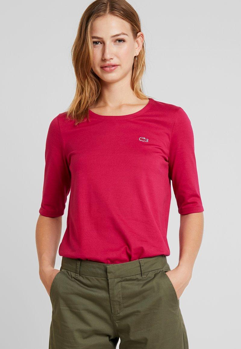 Lacoste - T-Shirt basic - fairground pink