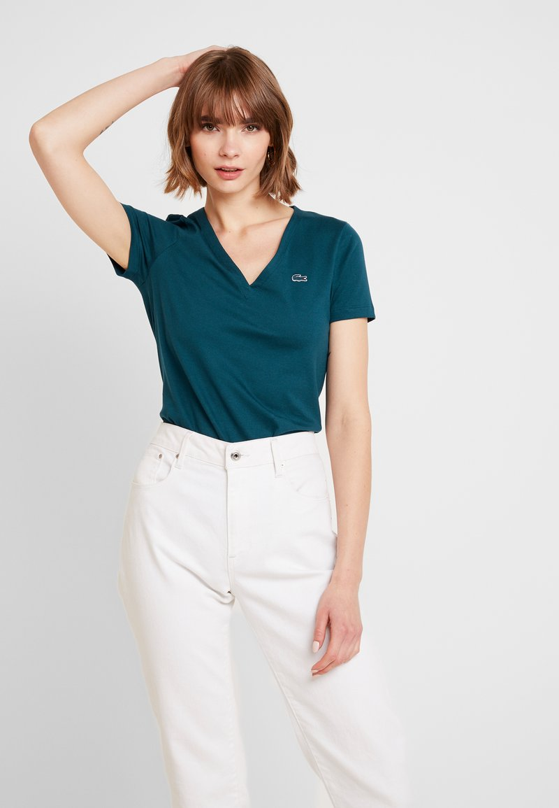 Lacoste - T-shirt basic - dark green