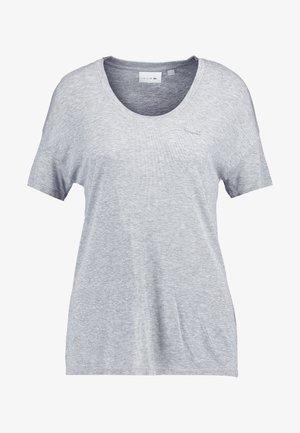Camiseta básica - silver chine