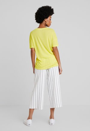 T-shirt basique - midday yellow