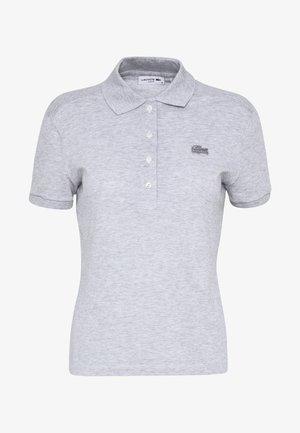 SLIM FIT - Poloshirt - silver chine
