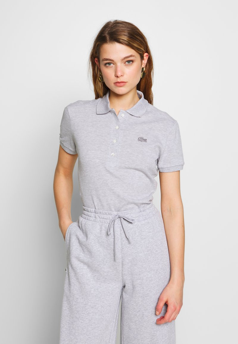 Lacoste - SLIM FIT - Polo shirt - silver chine