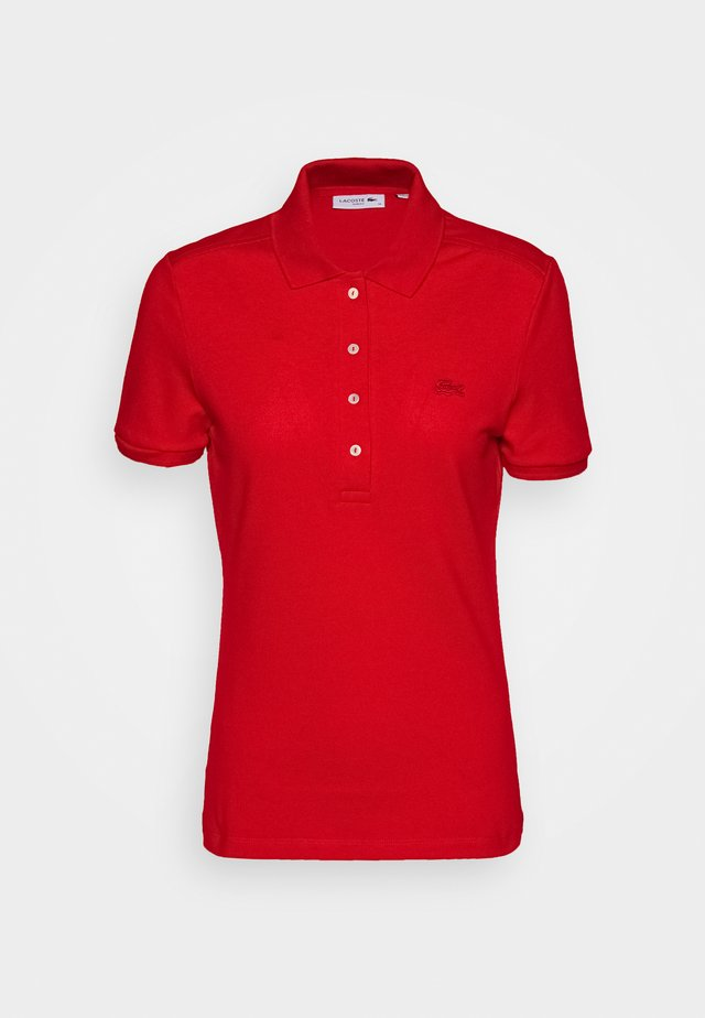 SLIM FIT - Poloshirt - red