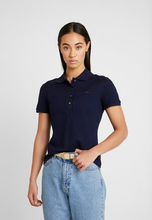 SLIM FIT - Polo - navy blue