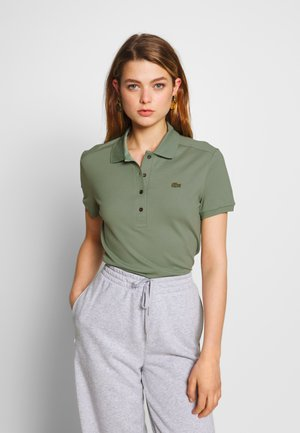 SLIM FIT - Polo - thyme