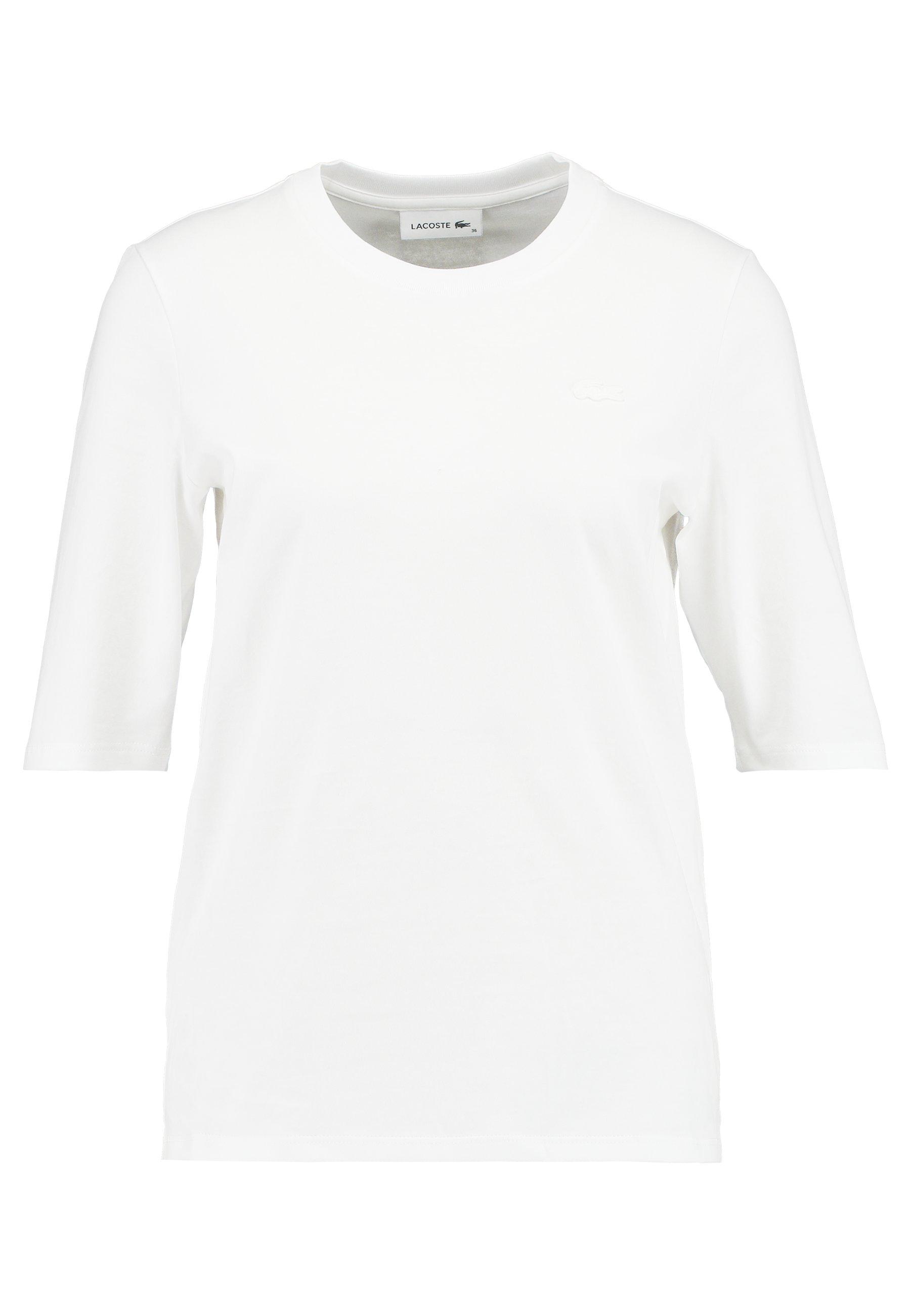 Lacoste Round Neck Classic Tee - T-shirt Basic Navy Blue