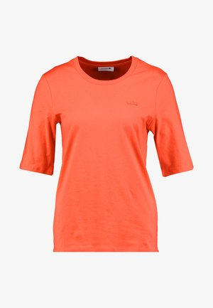 ROUND NECK CLASSIC TEE - Jednoduché triko - energy red