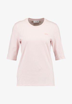 ROUND NECK CLASSIC TEE - Jednoduché triko - light pink