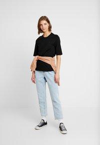 Lacoste - ROUND NECK CLASSIC TEE - T-shirt basic - black - 1