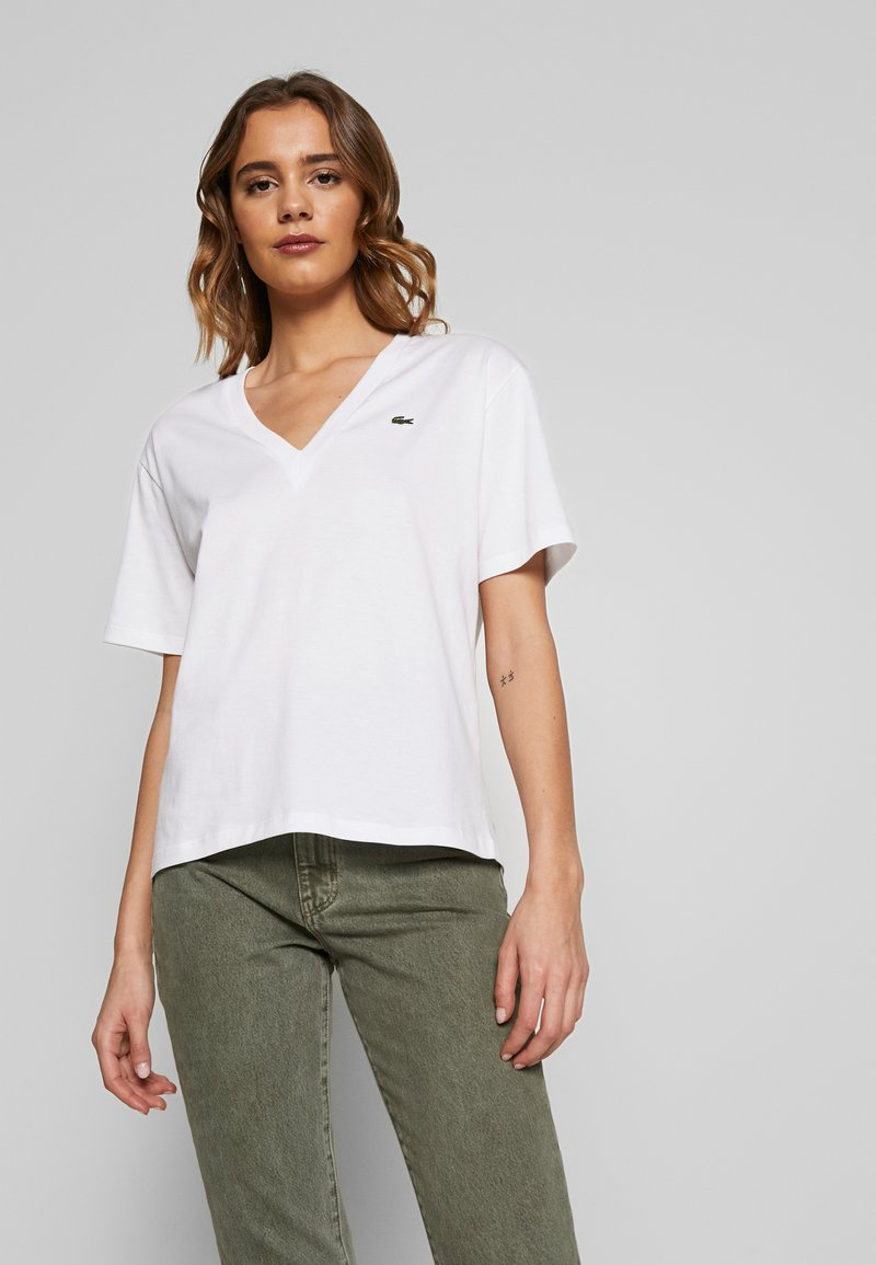Lacoste - TF5458 - T-shirt basic - white