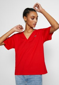 Lacoste - TF5458 - T-shirt basique - red - 3