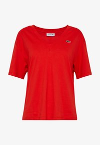 Lacoste - TF5458 - T-shirt basique - red - 4