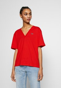 Lacoste - TF5458 - T-shirt basique - red - 0