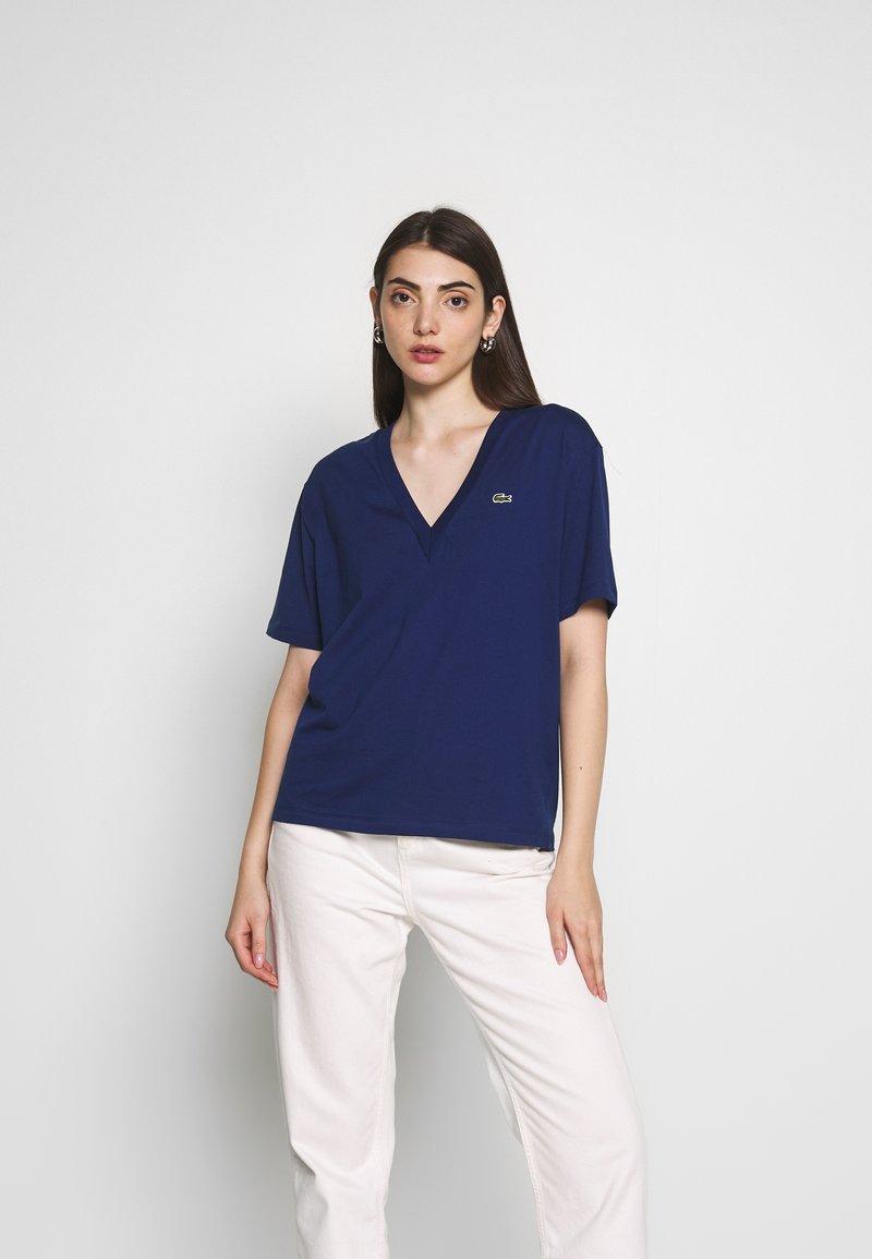 Lacoste - TF5458 - Basic T-shirt - methylene