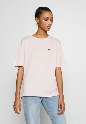 DAMEN RUNDHALS - Basic T-shirt - light pink