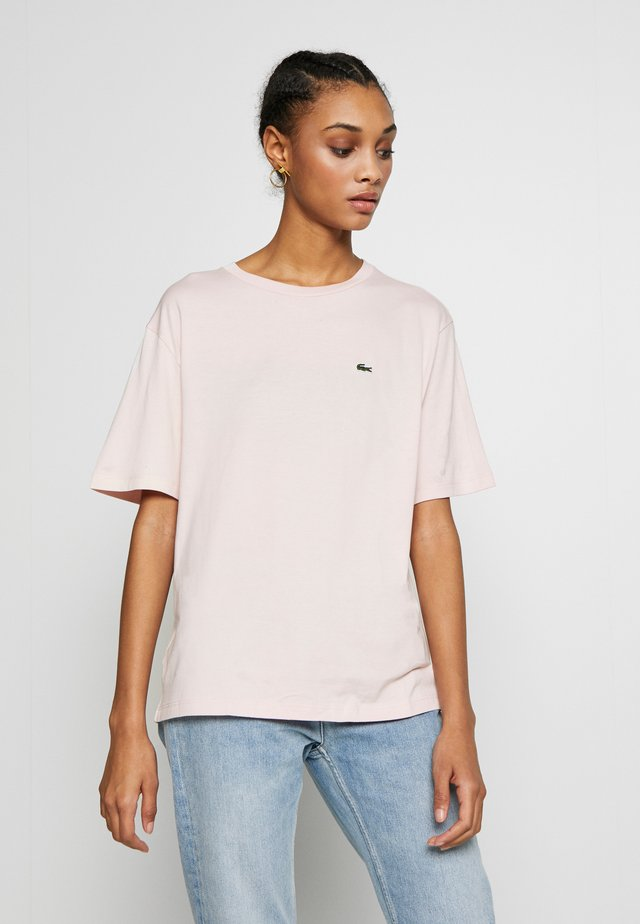 DAMEN RUNDHALS - T-shirt basic - light pink