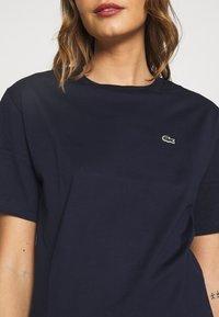 Lacoste - DAMEN RUNDHALS - T-shirts - navy blue - 4
