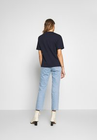 Lacoste - DAMEN RUNDHALS - T-shirt basic - navy blue - 2