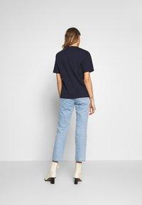 Lacoste - DAMEN RUNDHALS - T-shirt basique - navy blue - 2