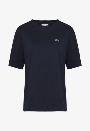 DAMEN RUNDHALS - Basic T-shirt - navy blue