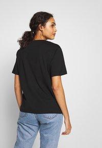 Lacoste - DAMEN RUNDHALS - T-shirt basique - black - 2